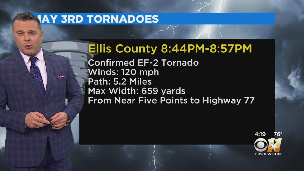 Weather Calm Following Monday Night Tornadoes