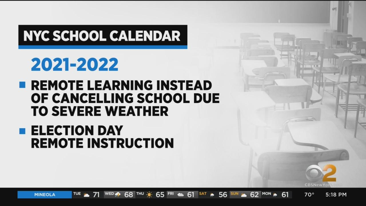 NYC Schools Will Switch To Remote Learning For Snow Days, Election Day