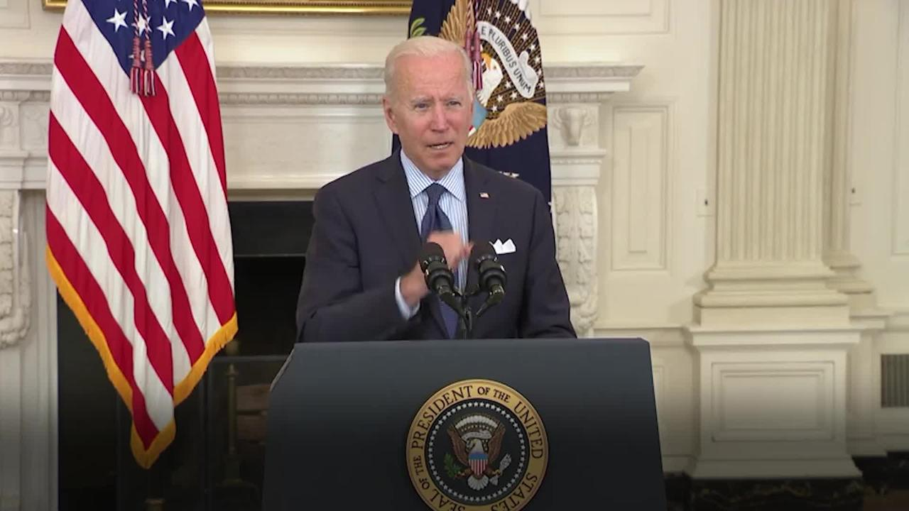 Biden aims to vaccinate 70% of adult Americans by July 4