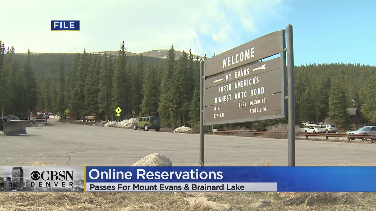 US Forest Service Will Start Using Timed-Entry Pass System For Mount Evans & Brainard Lake