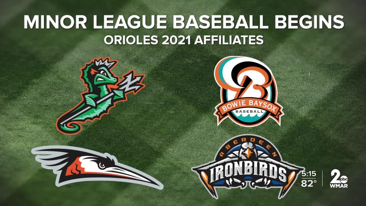 The minor leagues are back