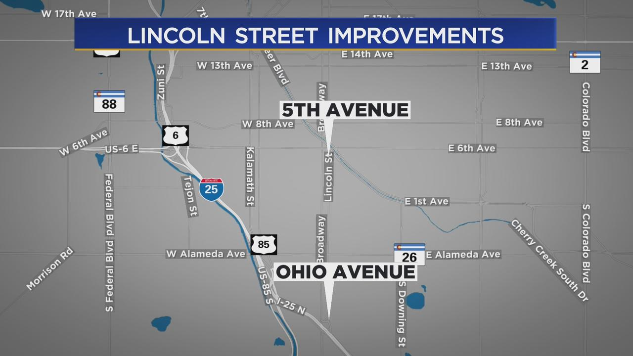 Denver Will Start Work On Lincoln Street To Make Improvements For Bus Travel