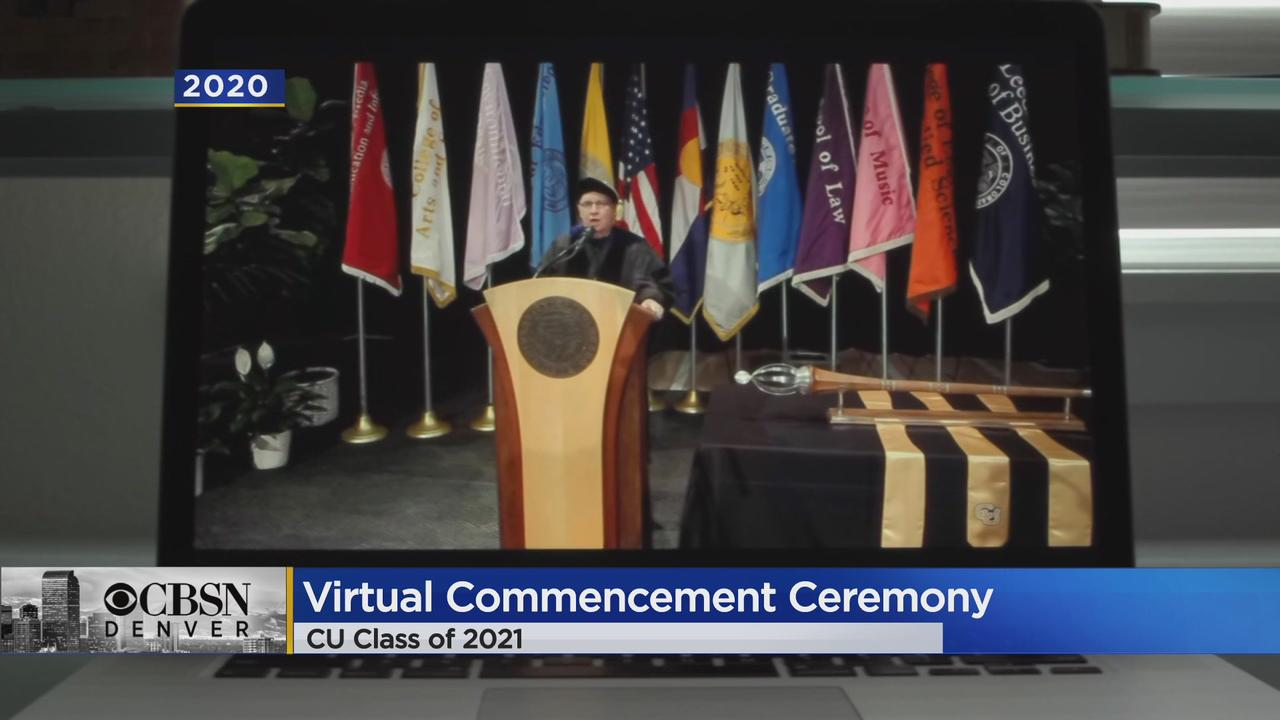 The 2021 Class At CU Will Celebrate Graduation With A Virtual Commencement Ceremony Thursday