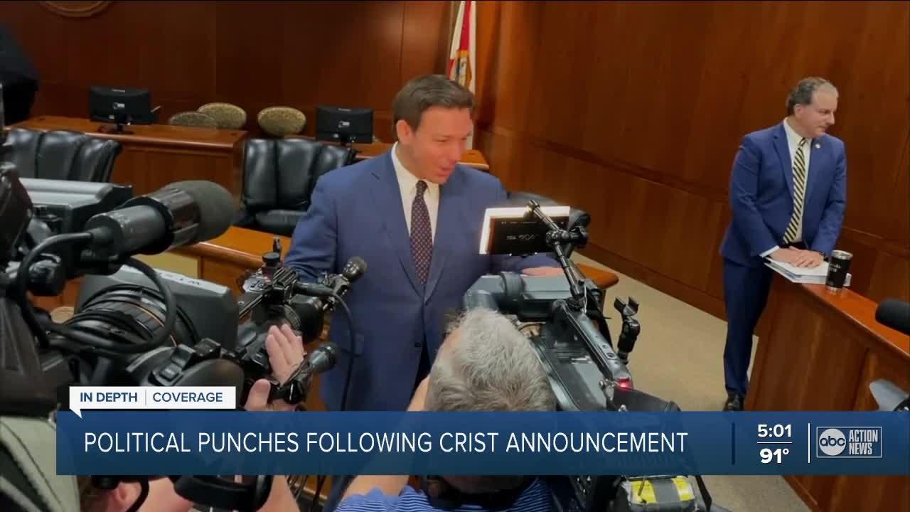 Floridians react to Crist's announcement