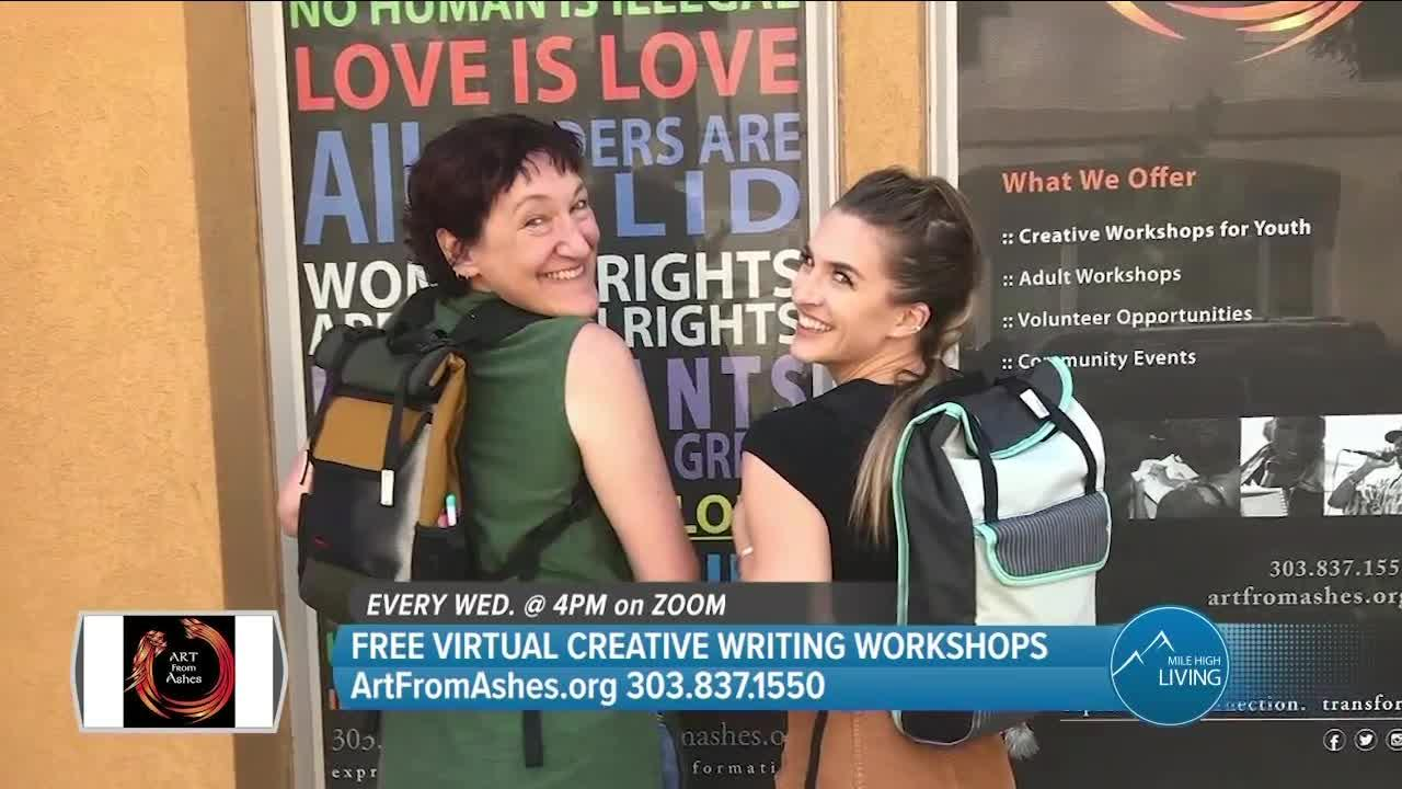 Art From Ashes // Free Creative Writing Workshops