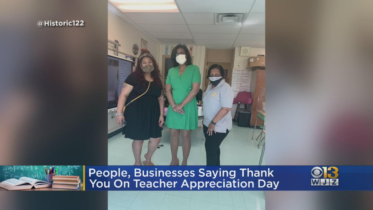 It's Teacher Appreciation Day