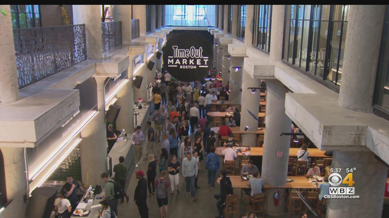 Time Out Market Food Hall In Boston's Fenway Neighborhood Set To Reopen