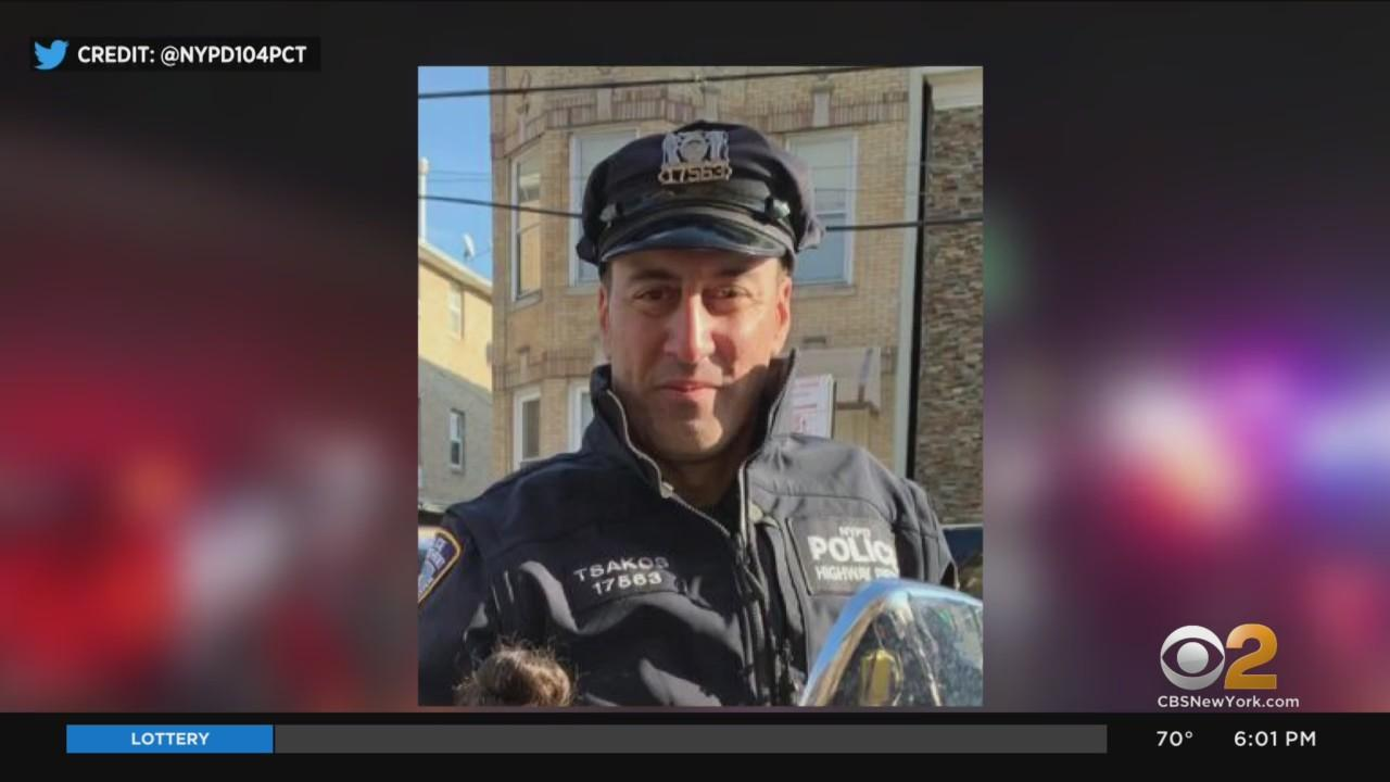 Thousands Honor NYPD Det. Anastasios Tsakos During Funeral Service