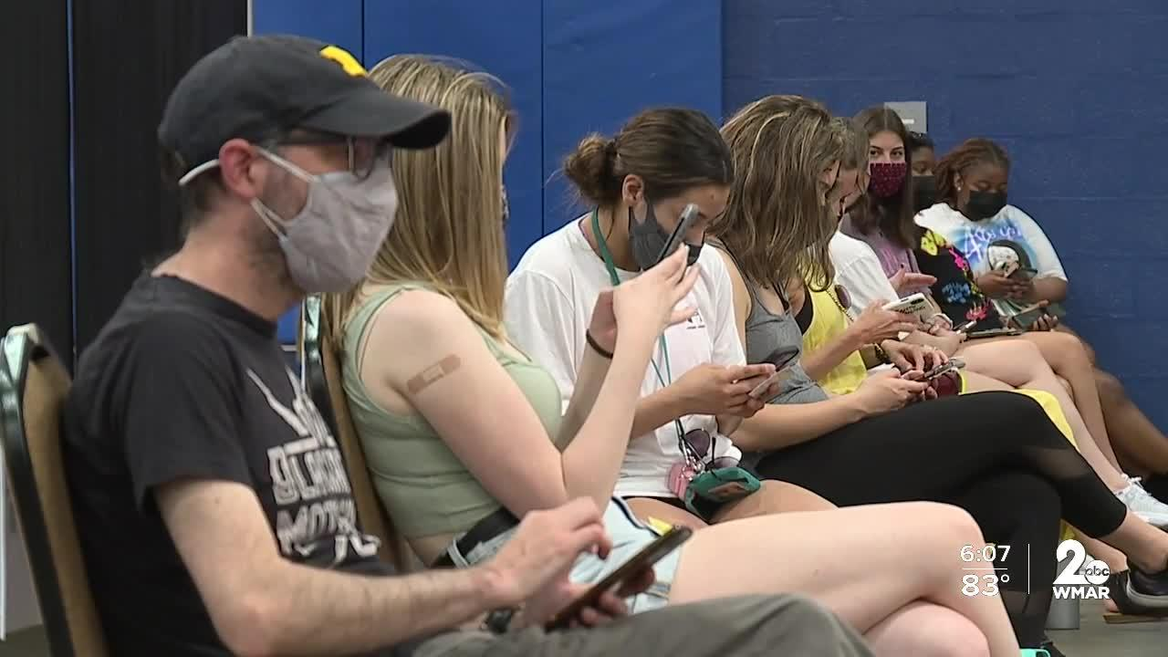 Notre Dame of Maryland University hosts vaccine clinic