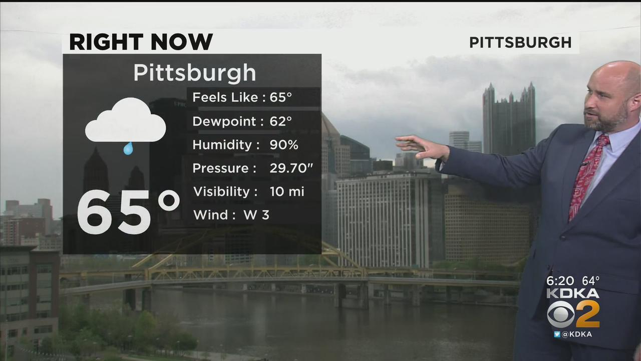KDKA-TV Evening Forecast (5/4)