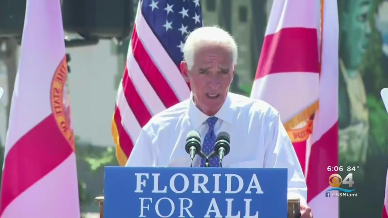 Rep. Charlie Crist Enters Crowded Race For Governor