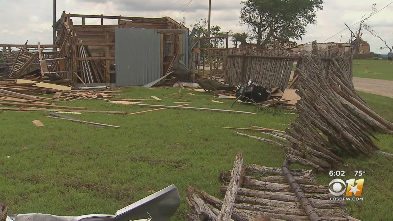 Popular Wedding Venue In North Texas Town Of Blum Severely Damaged By Tornado