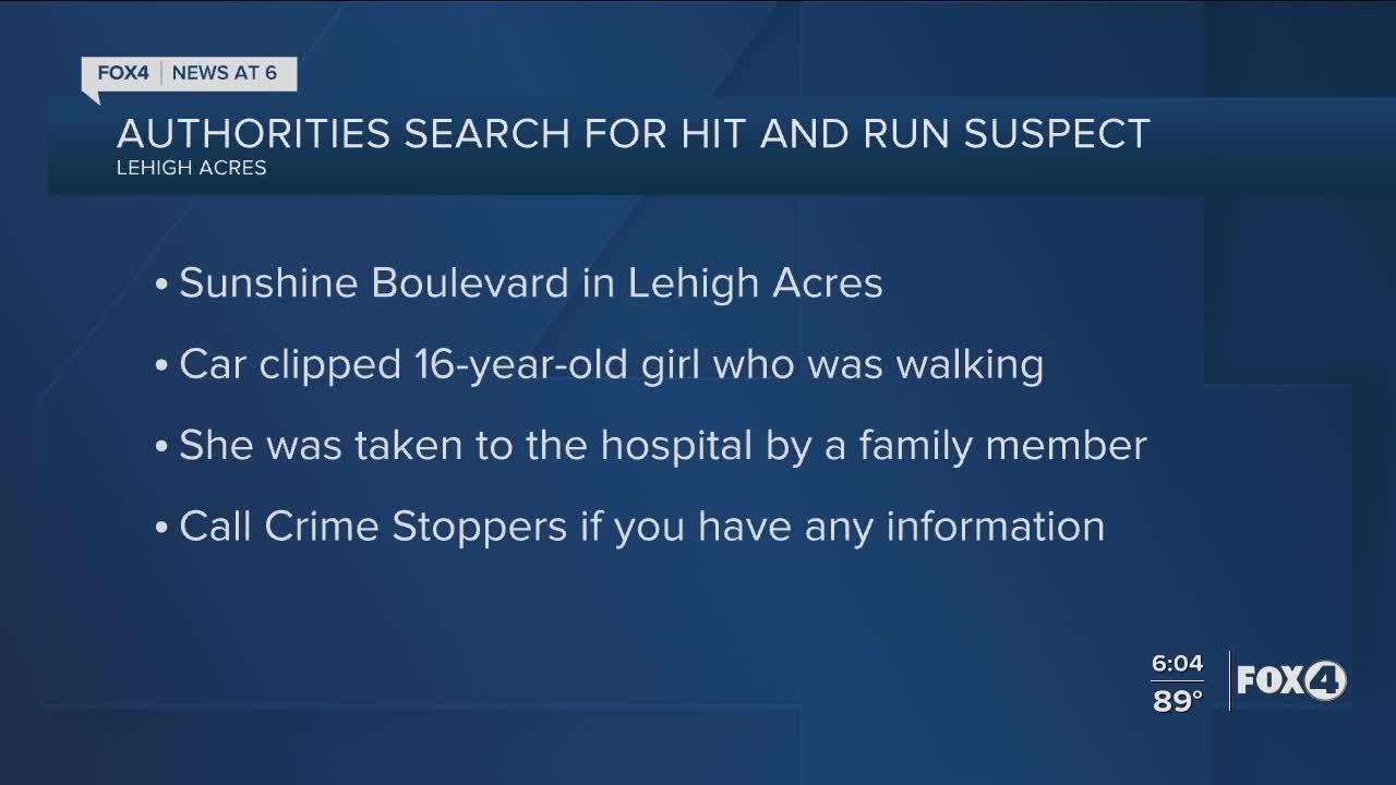 Florida Highway Patrol investigates hit and run in Lehigh Acres