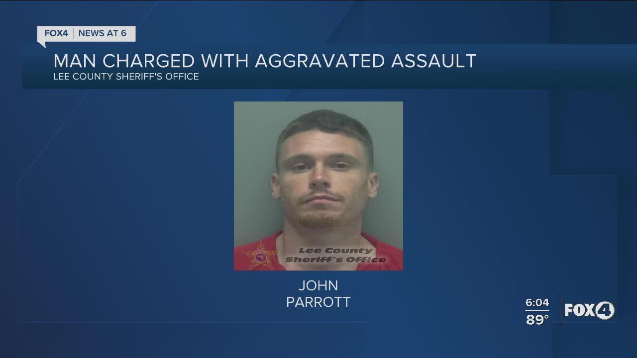 Man wielding machete charged with aggravated assault