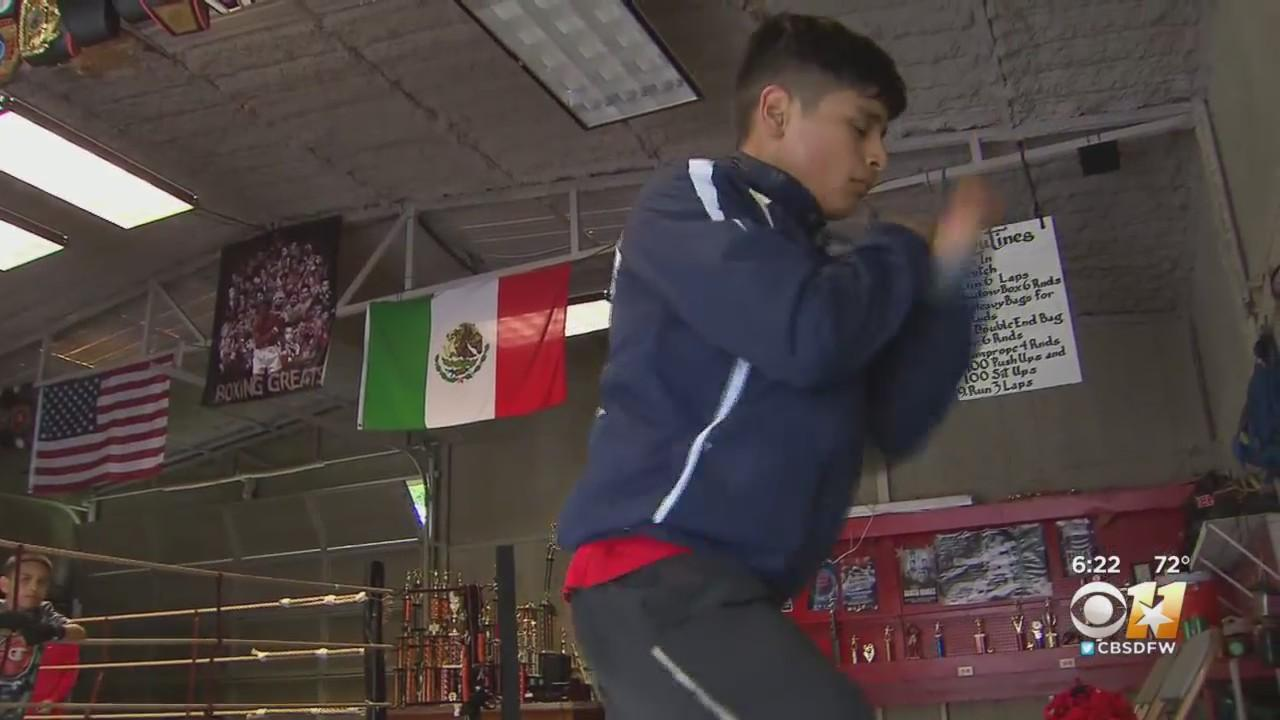 Mesquite High School Freshman Boxer Diego Barron Ranked Number 1 In The Nation