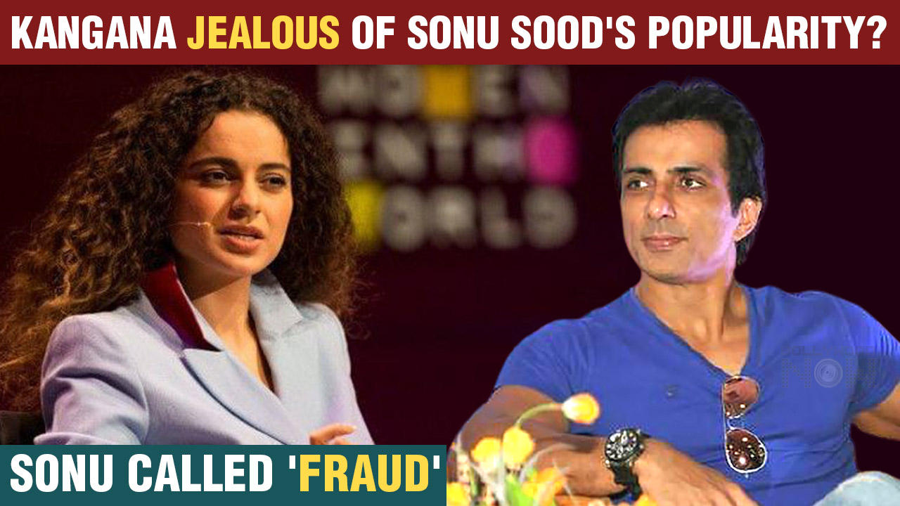 Kangana Ranaut Reacts To A Tweet calling Sonu Sood a 'Fraud'