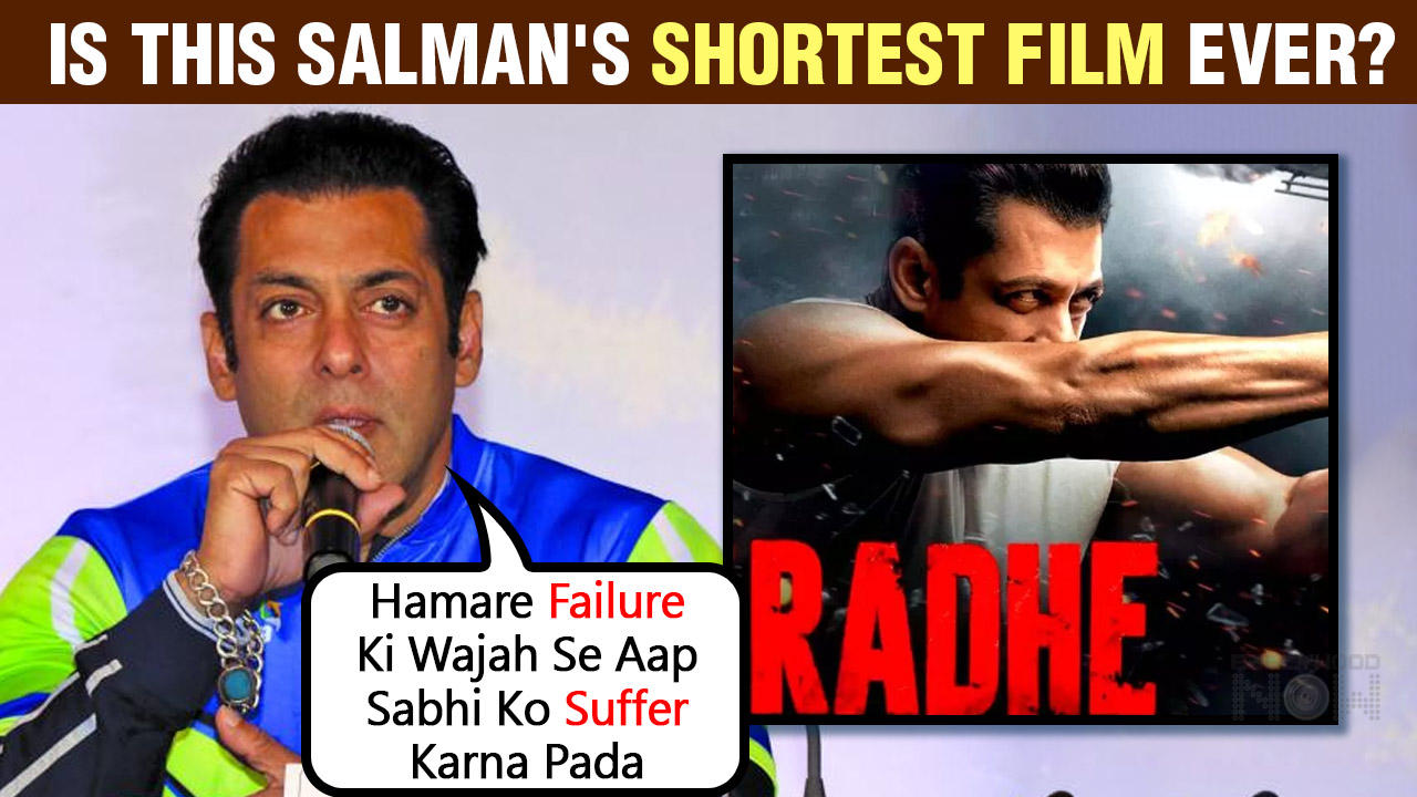 Radhe | Salman Khan SHORTEST Film Ever? Dialogue Promo Out