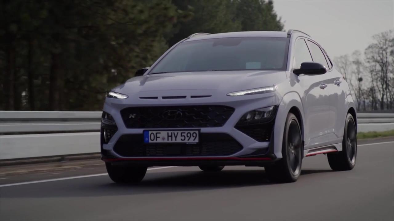 All-new Hyundai KONA N Driving Video