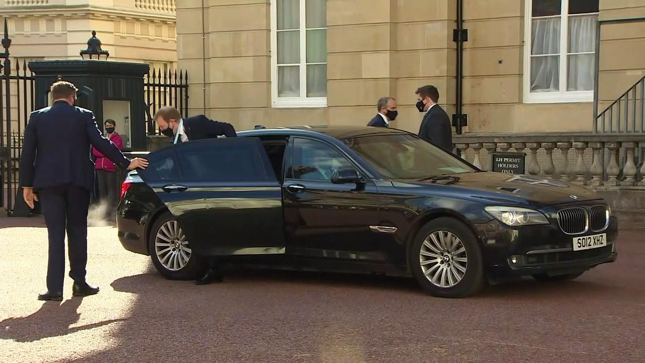 G7 representatives arrive at Lancaster House