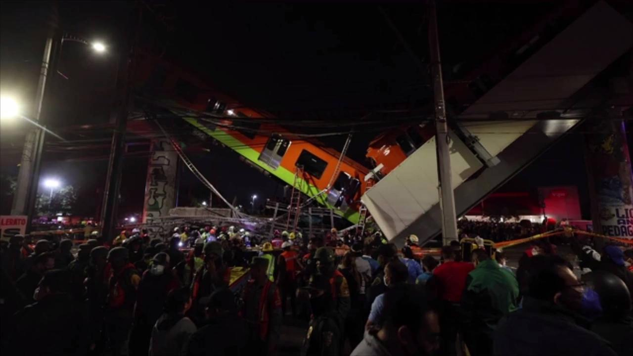 Mexico City Overpass Collapses, Killing at Least 23 People