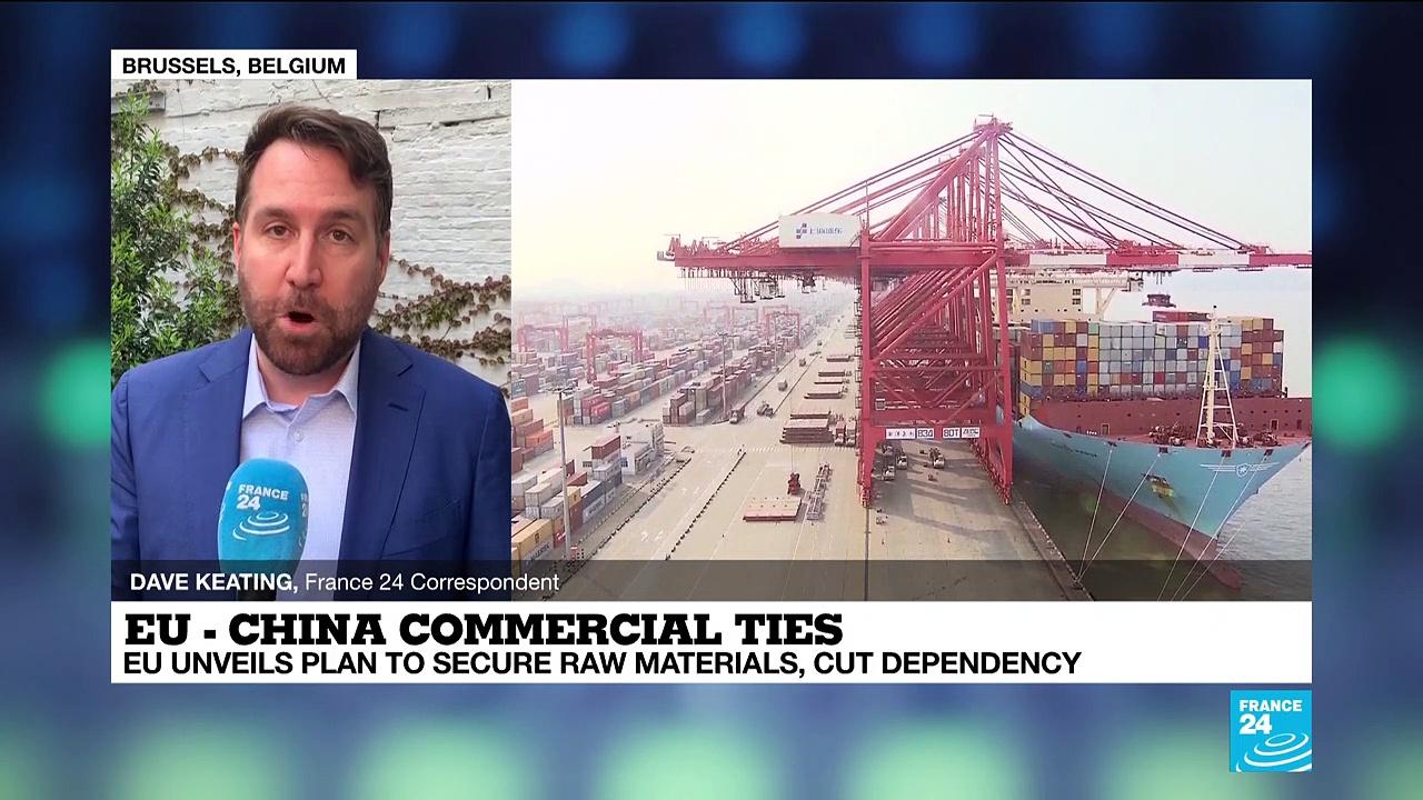 EU unveils plan to cut commercial dependency on China, others