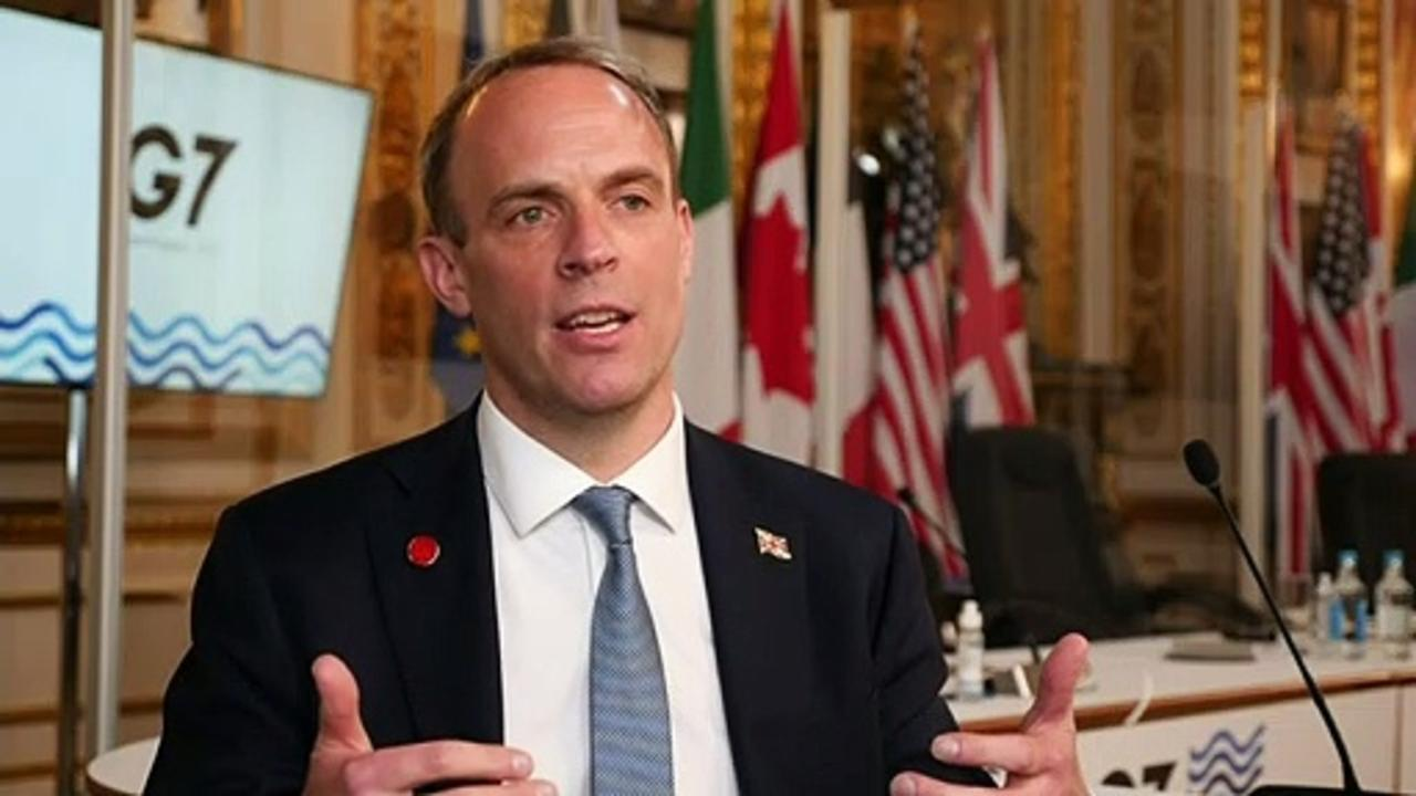 Raab: G7 nations agree to promote human rights and democracy