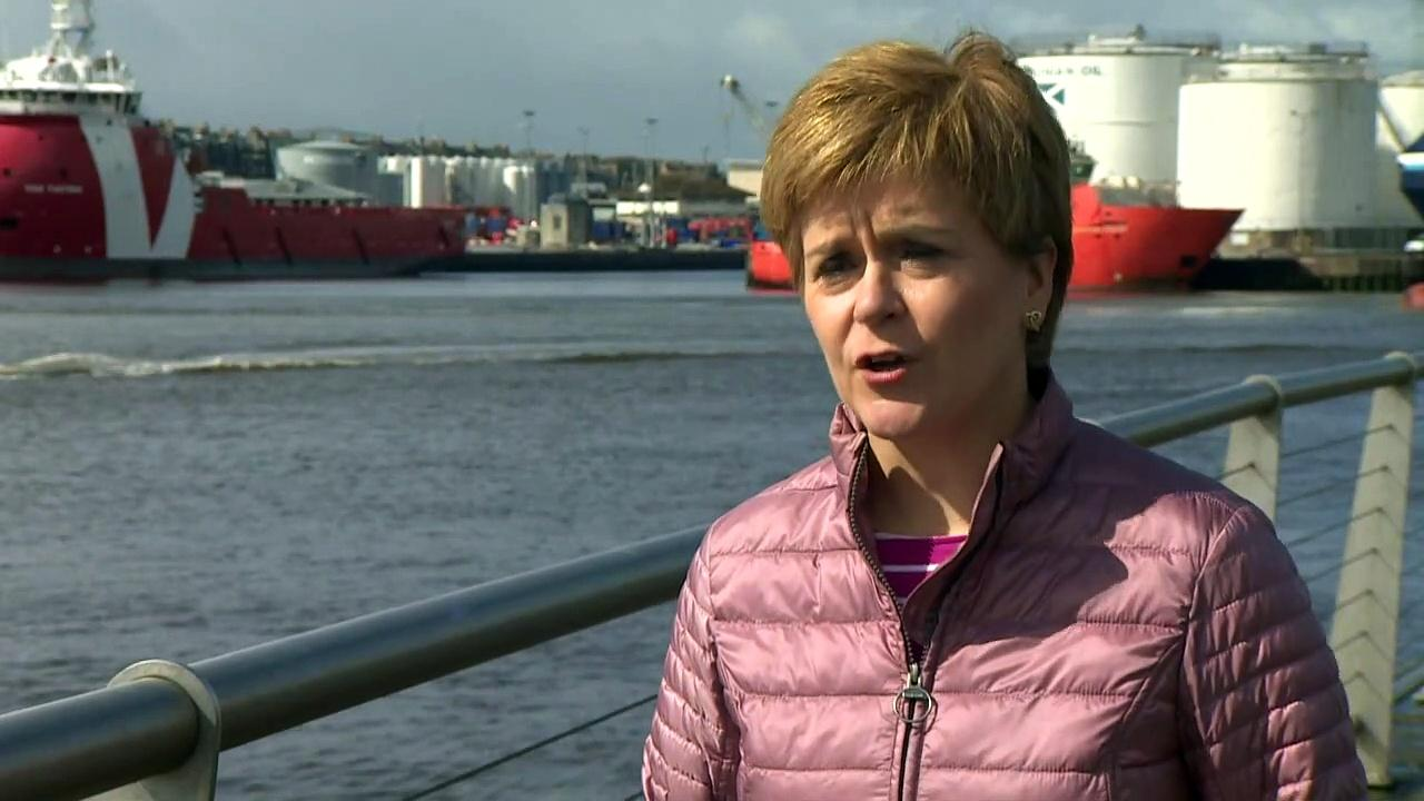 Sturgeon urges Scots not to leave elections to chance