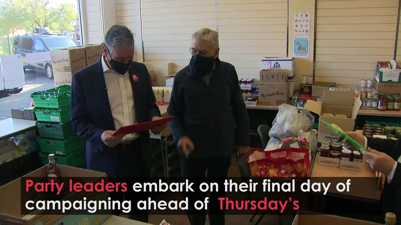 Party leaders have final campaign day before elections