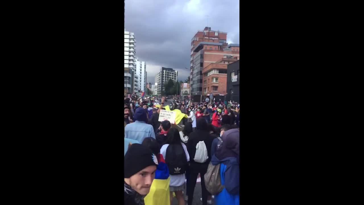 Columbians gather in Bogotá to honor victims of deadly tax reform protests