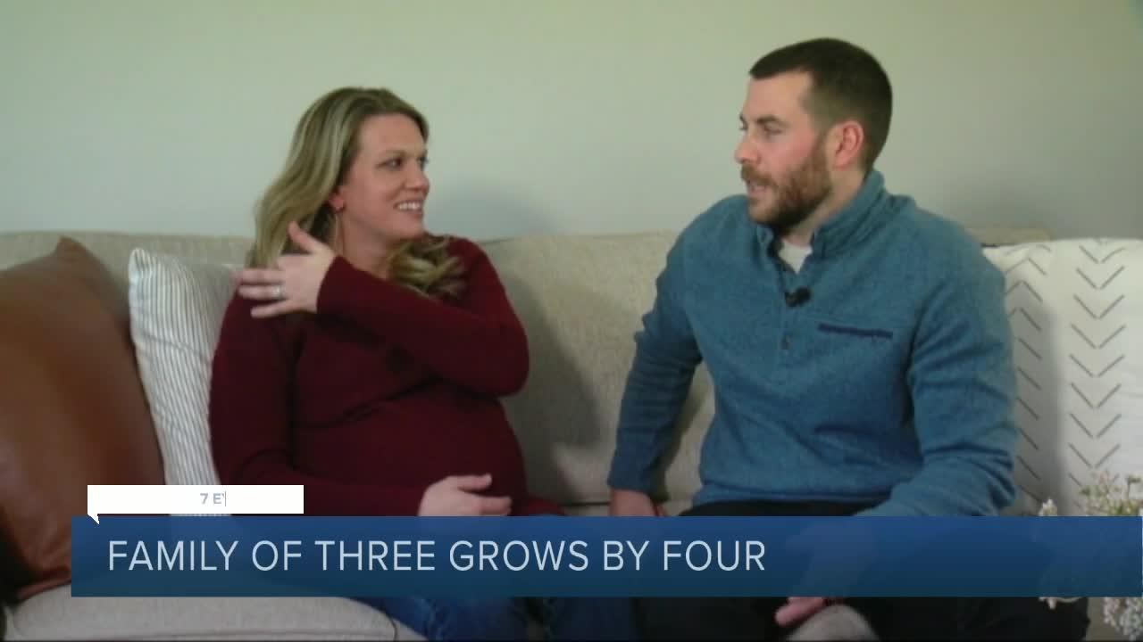 North Tonawanda family grows by four after welcoming quadruplets