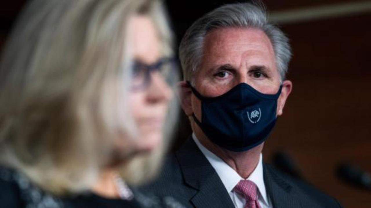 Hear McCarthy on a hot mic revealing what he thinks of Cheney