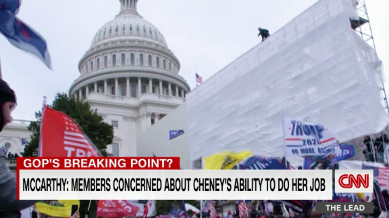 Sources tell CNN McCarthy will allow a vote to oust Cheney as soon as next week