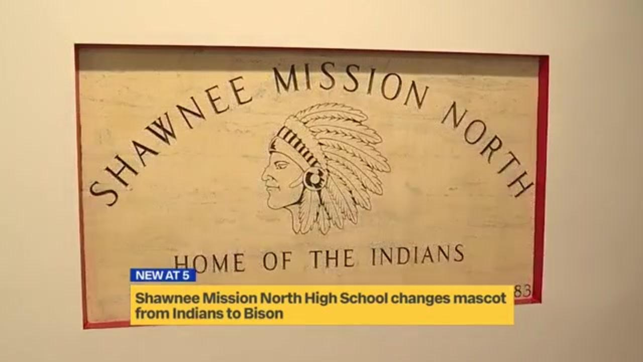 Kansas high school changes mascot from Indians to Bison