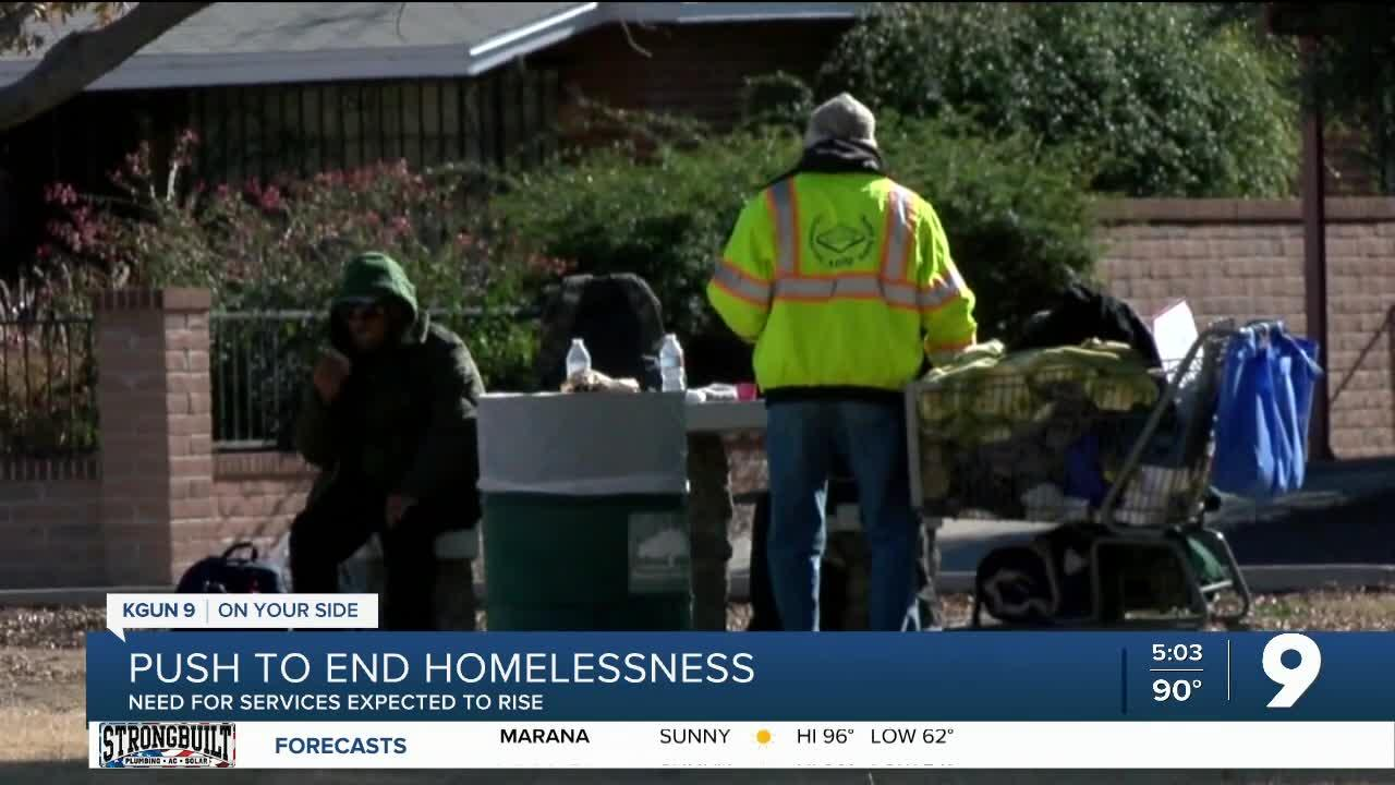 Push to end homelessness
