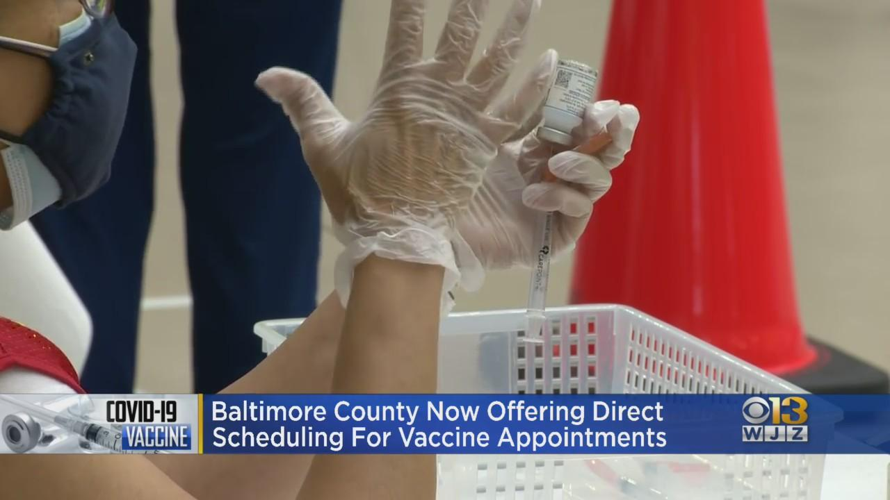 Baltimore County Residents Can Now Directly Schedule Vaccine Appointments At County Sites