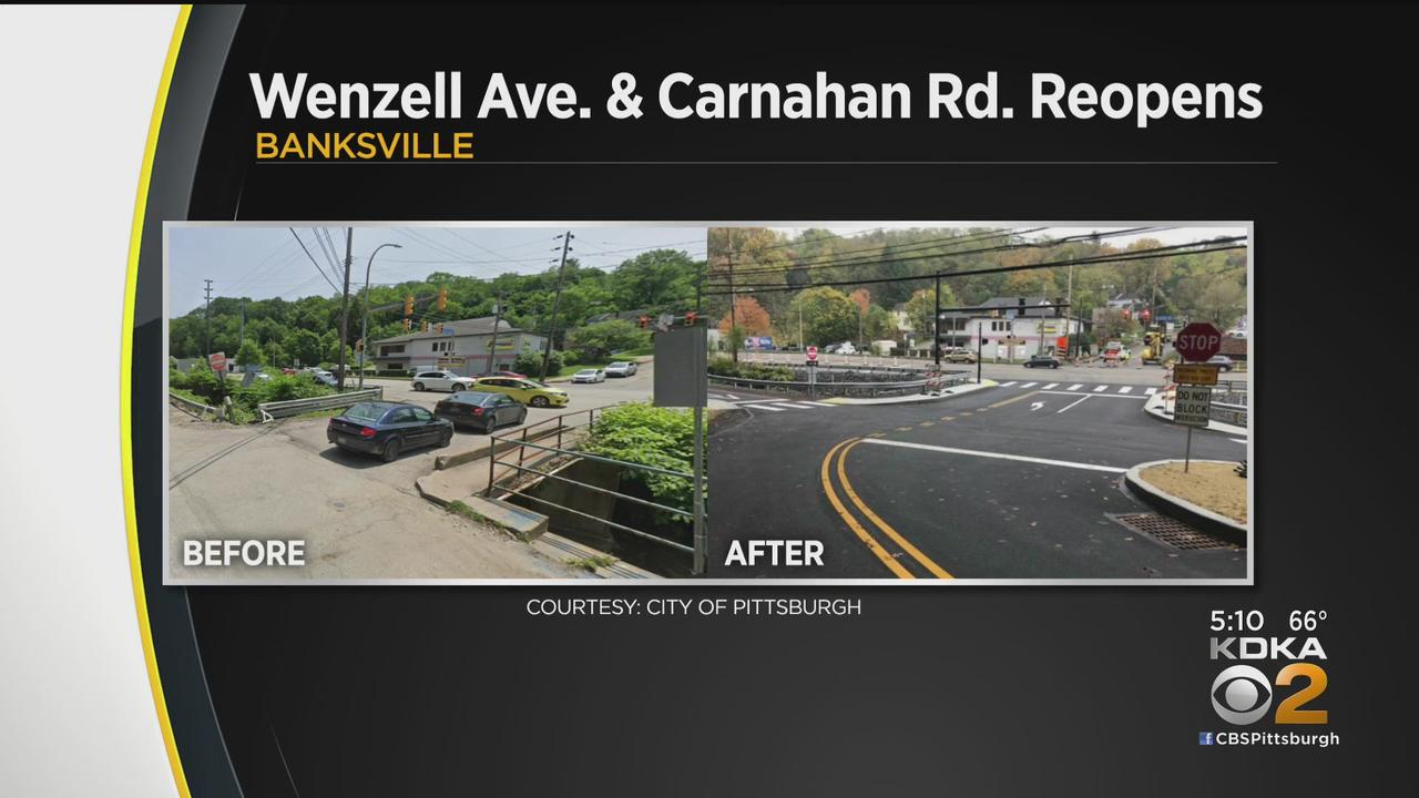 Crews Complete Improvement Project In Banksville