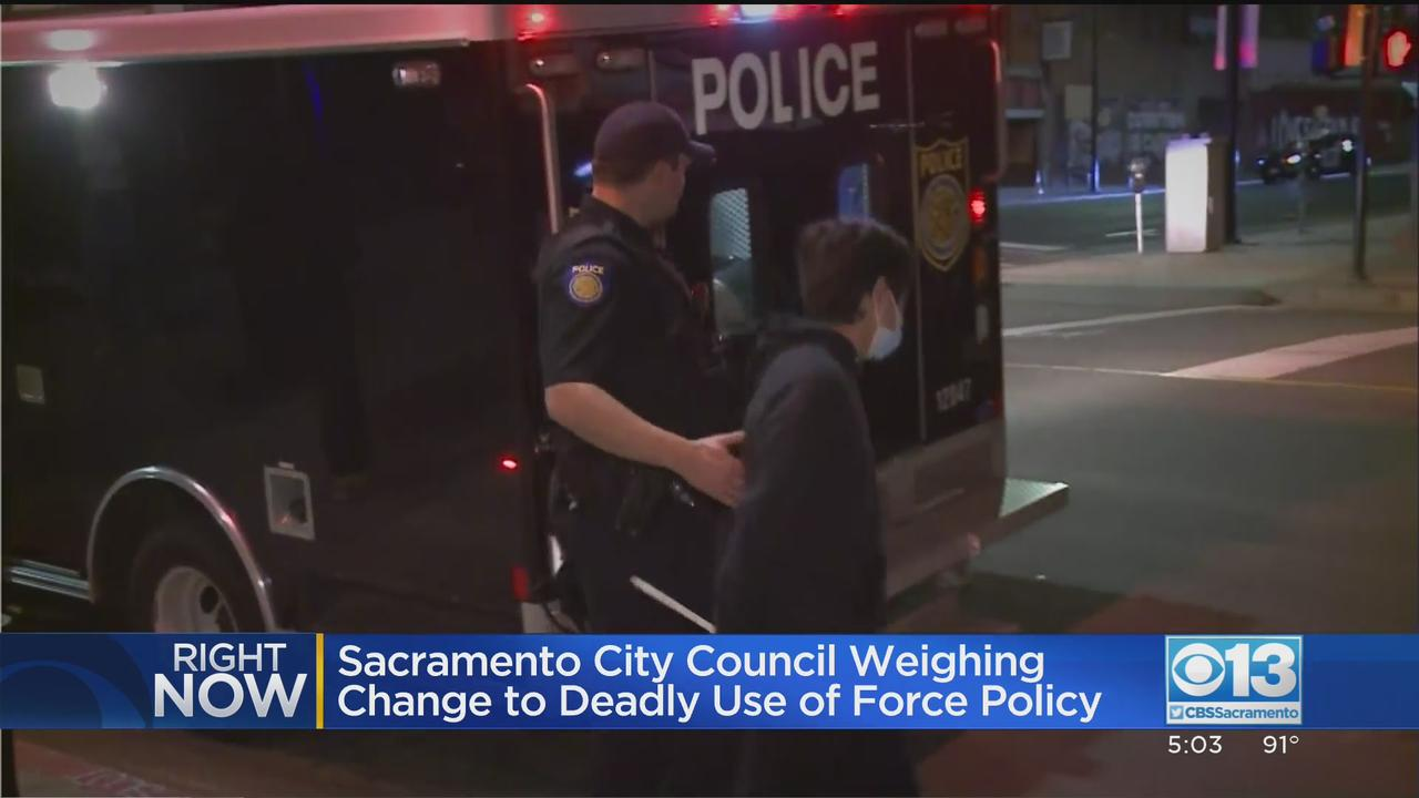 Sacramento City Leaders Voting On Use-Of-Force Policy