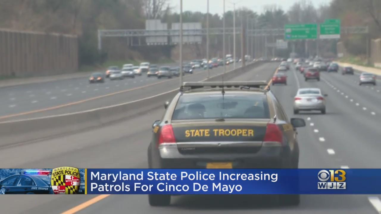 State Police To Increase Patrols For Cinco De Mayo