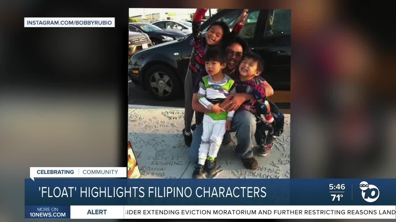 San Diegan's 'Float' highlights Filipino characters