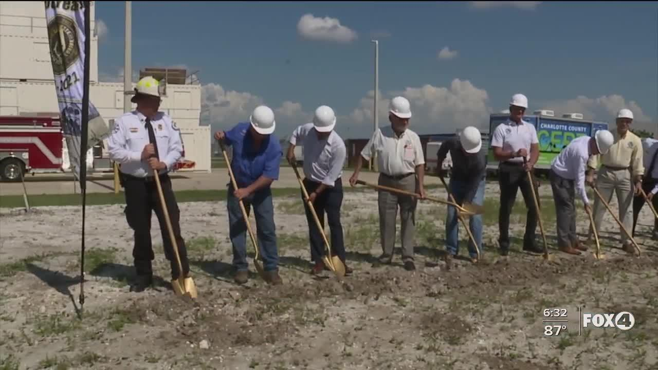 Airport Fire and Fire facility breaks ground in Charlotte County