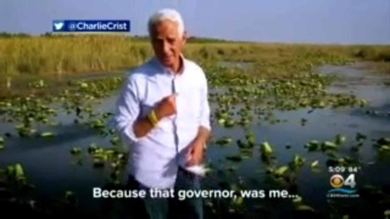 Rep. Charlie Crist Enters Race To Get His Old Job Back