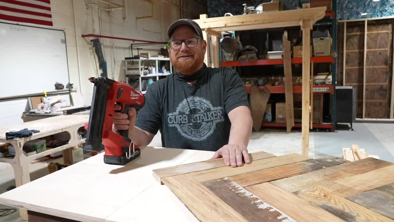 Eaton Rapids' 'Curbstalker' turns discarded items into unique furniture
