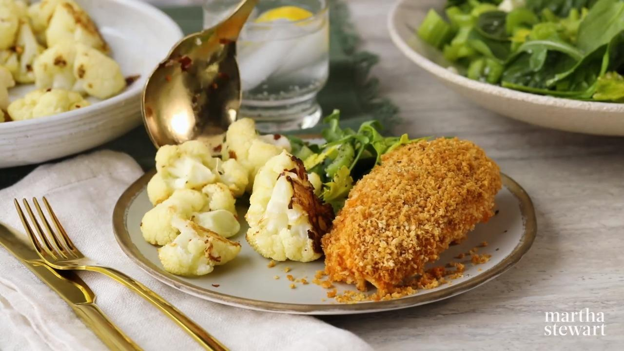 Crispy Roasted Cauliflower
