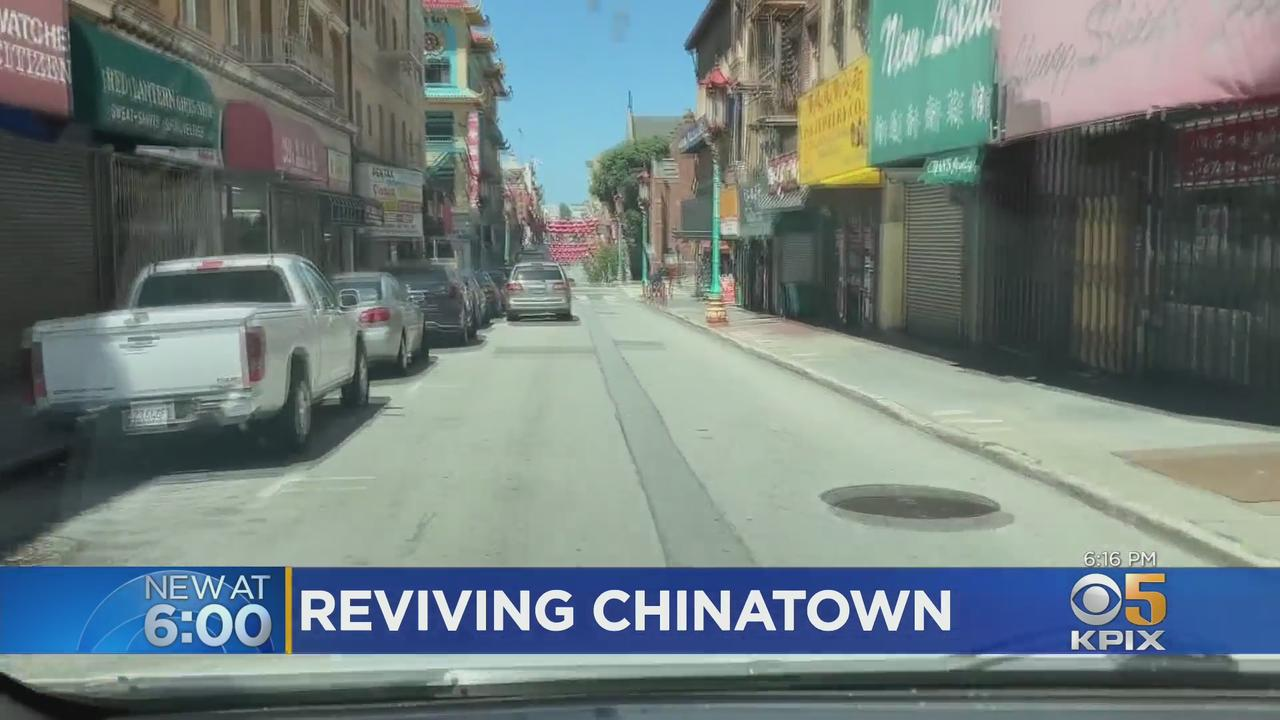 COVID: Chinatown Leaders Brainstorming Ideas To Revive Business, Tourism