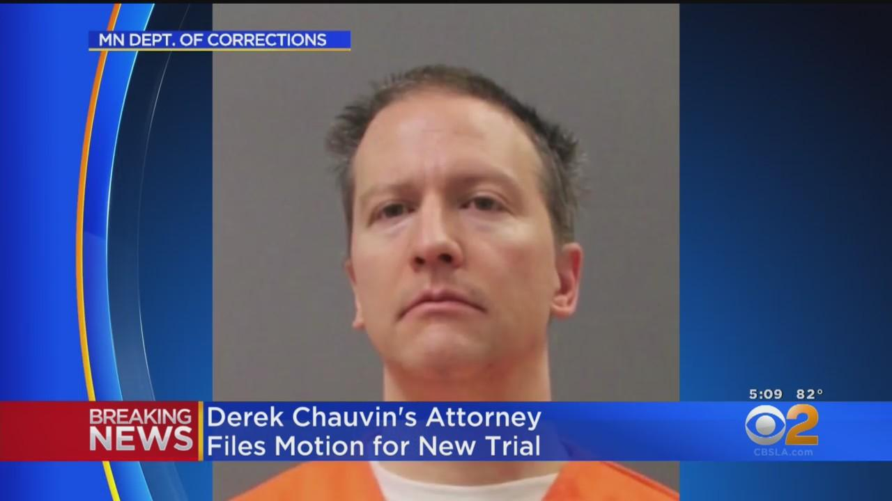 Derek Chauvin's Attorney Files Motion For New Trial