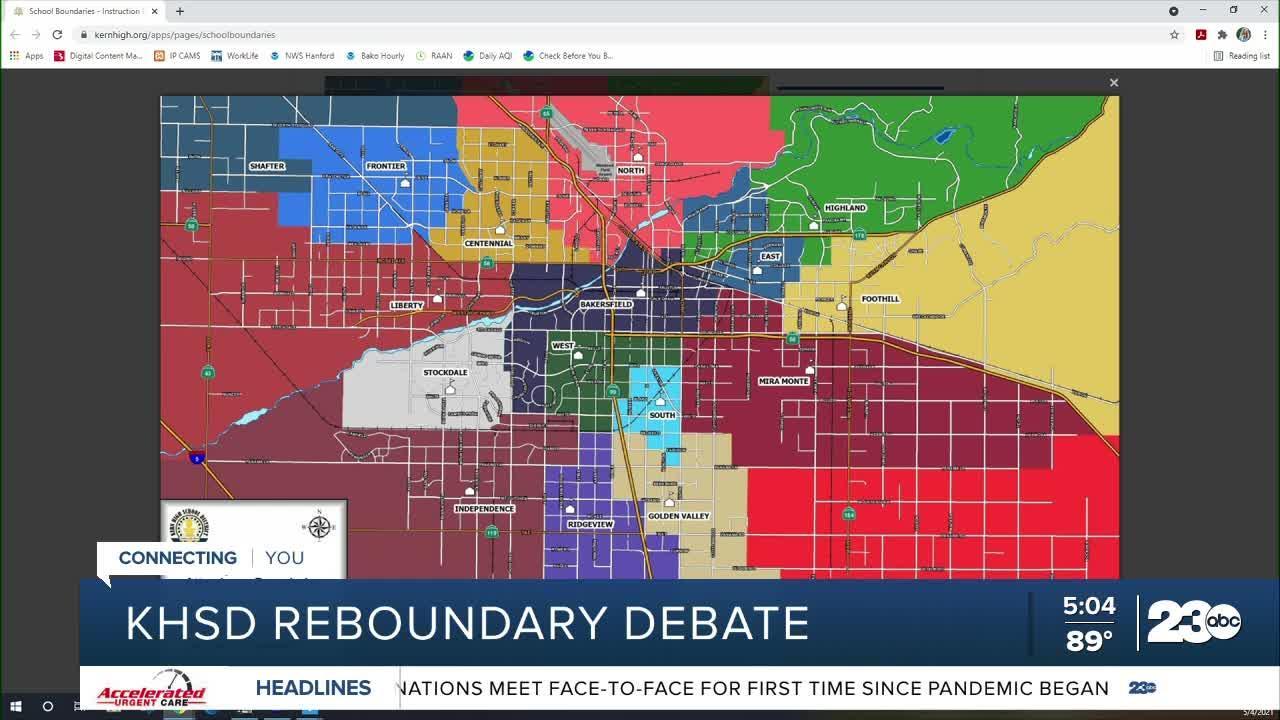 KHSD re-boundary debate