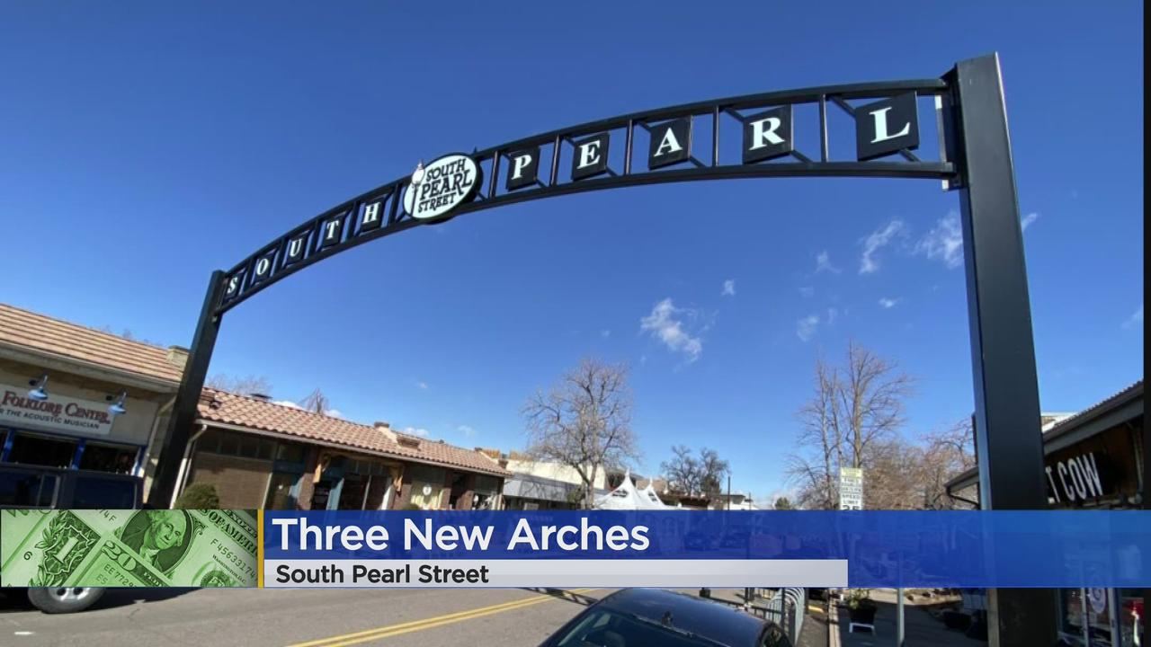 New Arches Welcome Visitors To South Pearl Street