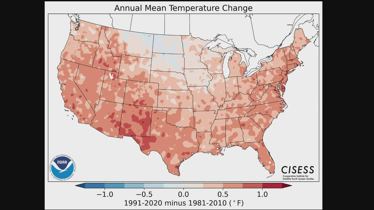 New U.S. Climate Normals Show Colorado Is Becoming A Warmer, Drier Place To Live