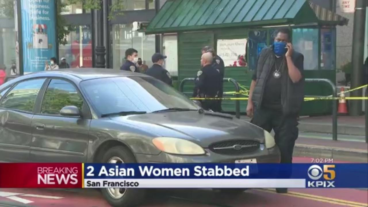 Police Search For Suspect Who Stabbed 2 Asian Women In San Francisco's Mid-Market Area