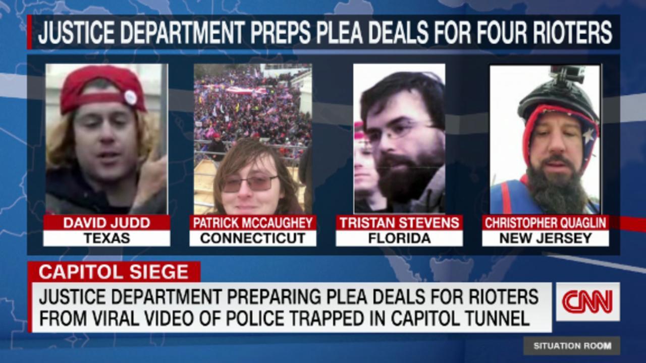 More Jan. 6 rioters could get plea deals